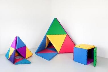 Tukluk Pyramiden - Spielmatten für das Schweizer Kinderzimmer | Dubadu