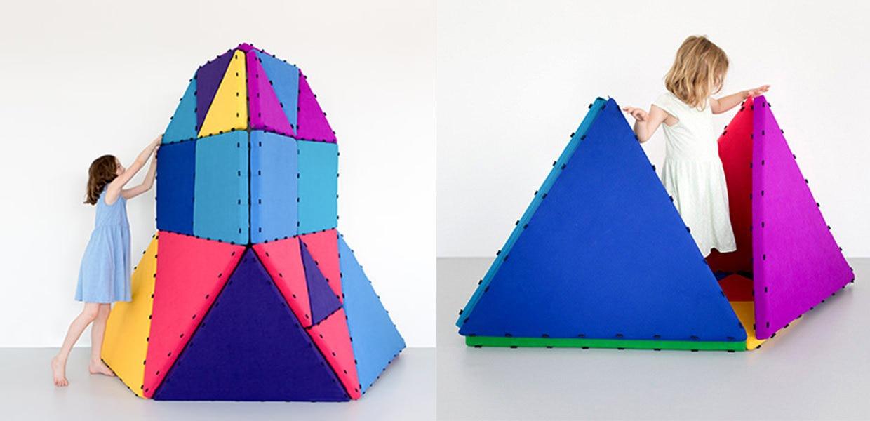 Tukluk Spielmatten zum Bauen im Schweizer Kinderzimmer - Dubadu